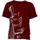E9 Preserve t-shirt Heren rood